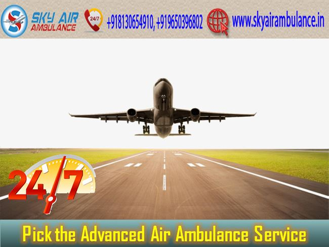 Sky Air Ambulance in Delhi.JPG