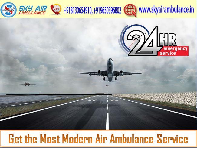 Sky Air Ambulance in Kolkata