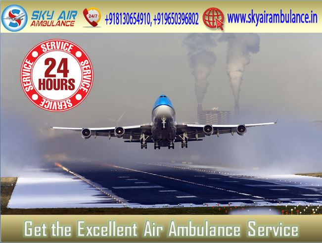 Sky Air Ambulance in Delhi