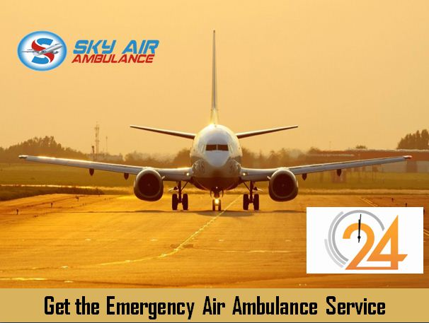 Sky Air Ambulance Service in Delhi